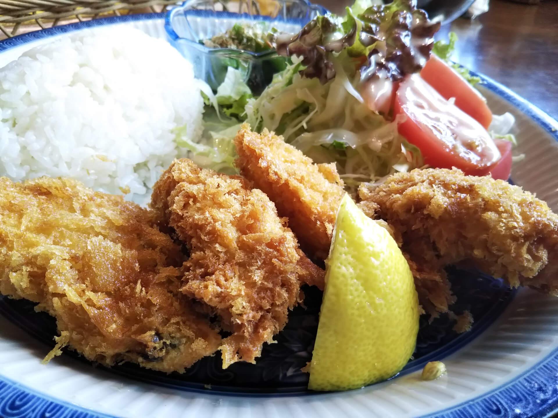 都レストランの魚フライセットその2